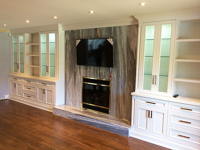 new styles 11303 1b79b Custom Wall & Entertainment Units by Imperial Custom Cabinetry